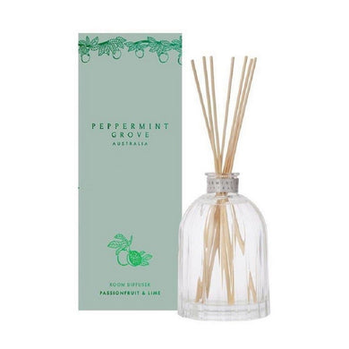 Peppermint Grove Diffuser 350ml - Passionfruit & Lime Lt Ed