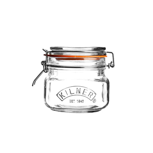 Kilner Square Clip Top Jar 500ml - ZoeKitchen