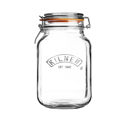 Kilner Square Clip Top Jar 2 Litre - ZOES Kitchen
