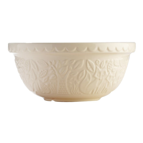 Mason Cash In The Forrest Fox Cream Mixing Bowl 29cm/4l - ZOES Kitchen