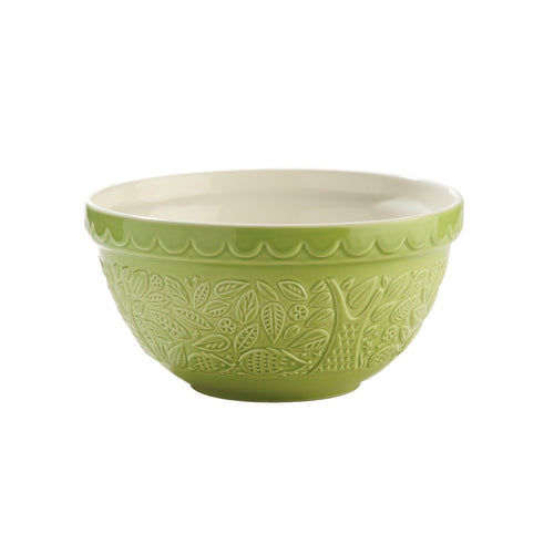 MASON CASH IN THE FORREST HEDGEHOG GREEN MIXING BOWL 21CM/1.1L