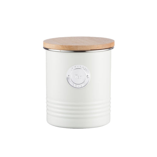 Typhoon Tea Canister 1l Cream - ZoeKitchen