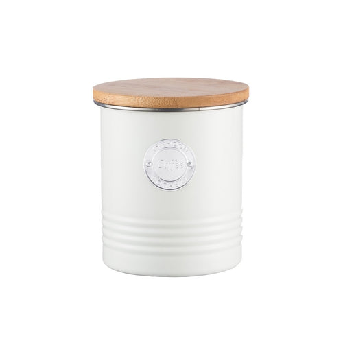 Typhoon Coffee Canister 1l Cream - ZoeKitchen