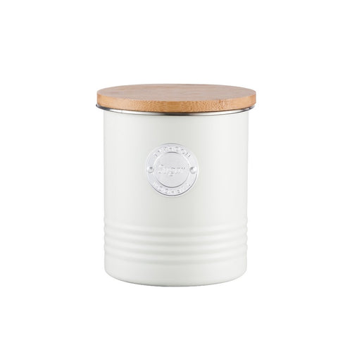 Typhoon Sugar Canister 1l Cream - ZoeKitchen