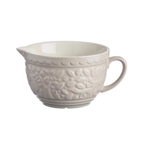 mason cash in the forrest owl cream batter bowl/jug 2l - ZoeKitchen