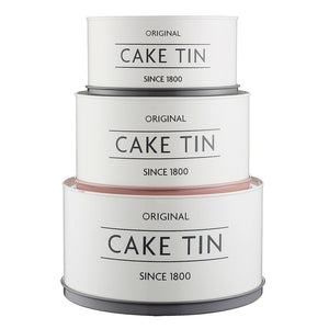 Mason Cash Cake Tins - Set Of 3 - ZOES Kitchen