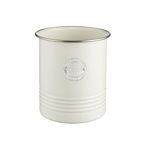 Typhoon Utensil Storage Canister Cream - ZoeKitchen