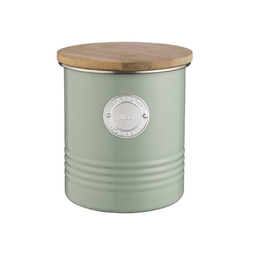 Typhoon Tea Canister 1l Sage - ZoeKitchen