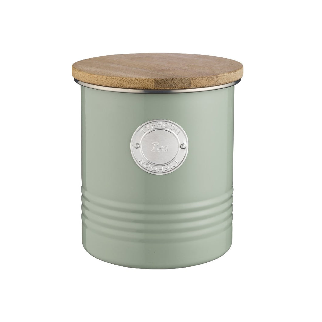 Typhoon Tea Canister 1l Sage - ZOES Kitchen