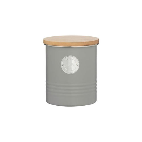 Typhoon Coffee Canister 1l Grey - ZOES Kitchen