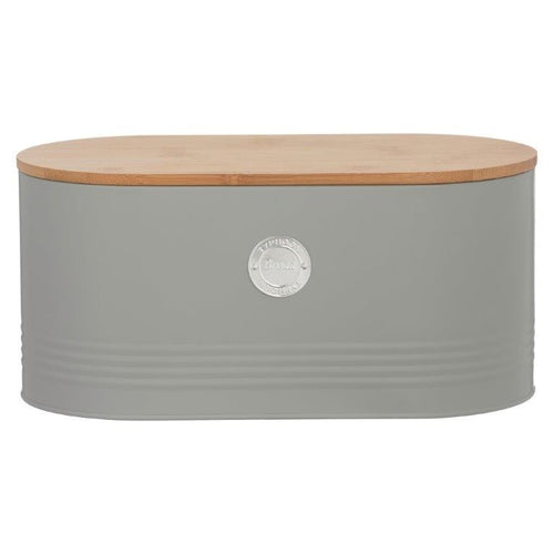 Typhoon Bread Bin Grey - ZoeKitchen