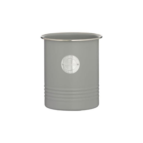 Typhoon Utensil Storage Canister Grey - ZOES Kitchen