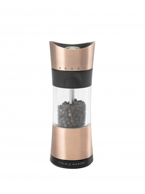 Cole & Mason Inverta Horsham Copper Pepper Mill - ZoeKitchen