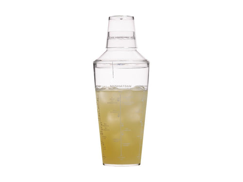 bc cocktail shaker 700ml acrylic gift boxed - ZoeKitchen
