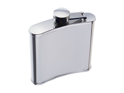 Bc Hip Flask 170ml Stainless Steel Gift Boxed - ZOES Kitchen