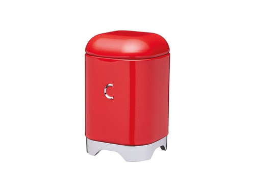 Kc Lovello Coffee Canister 11x18cm 1.5l Red - ZOES Kitchen