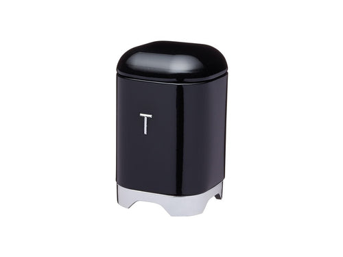 Kc Lovello Tea Canister 11x18cm 1.5l Black - ZOES Kitchen