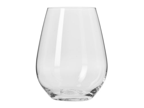krosno harmony stemless wine glass 400ml 6pc gift boxed - ZoeKitchen