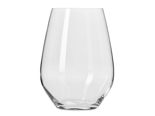 Krosno Harmony Stemless Wine Glass 540ml 6pc Gift Boxed - ZoeKitchen