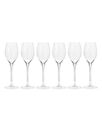 Krosno Harmony Prosecco Glasses 280ml 6pc Gift Boxed - ZoeKitchen