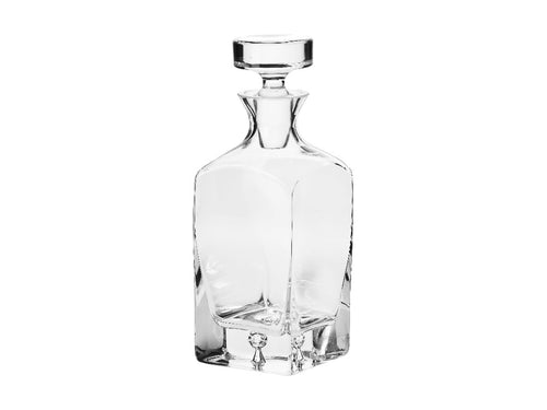 Krosno Legend Whisky Carafe 750ml Gift Boxed - ZoeKitchen