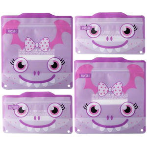 Snack/Sandwich Bags Set 4 - Purple Monster - ZOES Kitchen