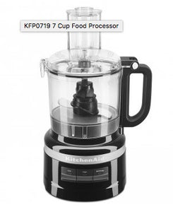 Kitchen Aid Food Processor 7 Cup - Onyx Black - ZOES Kitchen