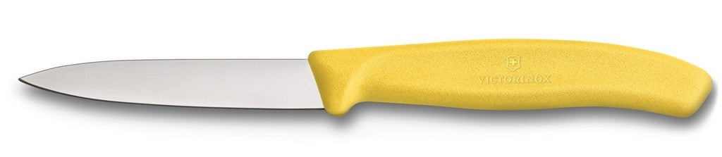 Victorinox Paring Knive Pointed Tip Yellow 8cm - ZOES Kitchen