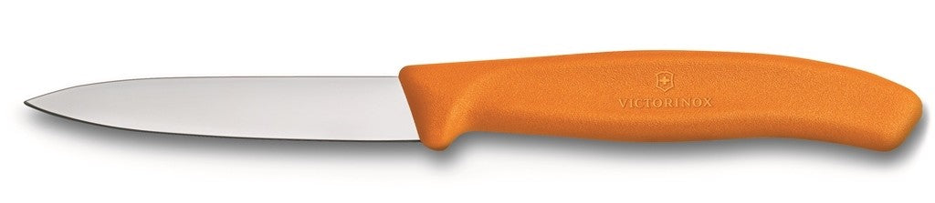 Victorinox Paring Knive Pointed Tip Orange 8cm - ZoeKitchen