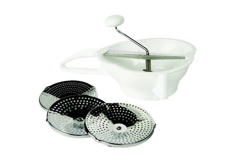 Metaltex Food Mill 3 Disc Set - ZoeKitchen