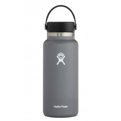 Hydro Flask Hydration Bottle Wide Mouth 32oz/946ml - Stone - ZoeKitchen
