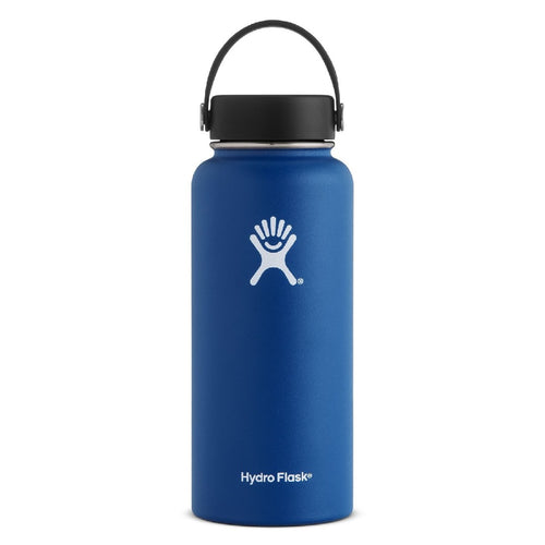 Hydro Flask Hydration Bottle Wide Mouth 32oz/946ml - Cobolt - ZoeKitchen