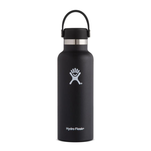 HYDRO FLASK HYDRATION BOTTLE 18OZ/532ML - BLACK - ZoeKitchen