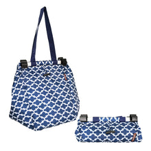 Load image into Gallery viewer, Dline Shopping Trolley Bag Blue - ZoeKitchen