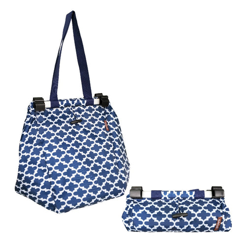 DLINE SHOPPING TROLLEY BAG BLUE