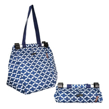 Load image into Gallery viewer, Dline Shopping Trolley Bag Blue - ZOES Kitchen