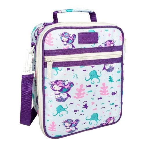 OASIS SACHI INSULATED JUNIOR LUNCH TOTE - MERMAIDS