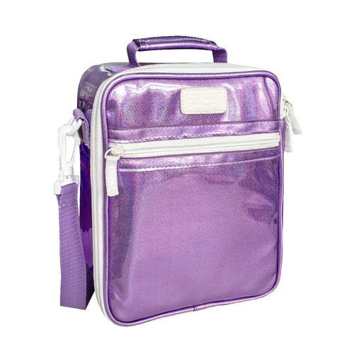 oasis sachi insulated junior tote - purple lustre - ZoeKitchen