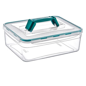 Plast Art - Rectangle Clip Container with Rectabgle Handle 5.5L - 31x25x11cm - ZoeKitchen