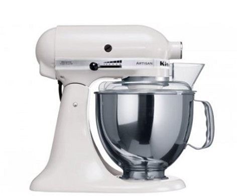 Kitchen Aid Stand Mixer Ksm150 White Mixer - ZoeKitchen