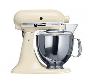 Kitchen Aid Stand Mixer Ksm150 Almond Cream Mixer - ZoeKitchen