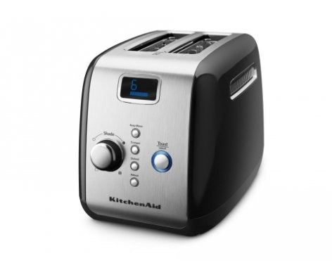 Kitchen Aid Toaster - Artisan 2 Slice Onyx Black Kmt223 - ZoeKitchen
