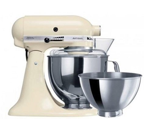 Kitchen Aid Stand Mixer Ksm160 Almond Cream - ZoeKitchen