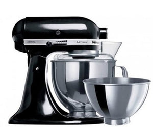 Kitchen Aid Stand Mixer Ksm160 Onyx Black - ZoeKitchen