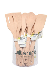 WILTSHIRE IMPULSE BEECHWOOD UTENSILS ASSORTED - CDU12 - ZoeKitchen