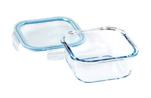 Wiltshire Glass Square Container 800ml (c) - ZOES Kitchen