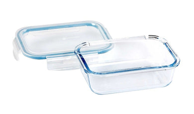 Wiltshire Glass Rectangle Container 600ml (c) - ZOES Kitchen