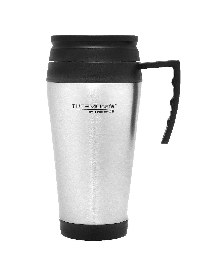 thermos s/steel travel mug 400ml - ZoeKitchen
