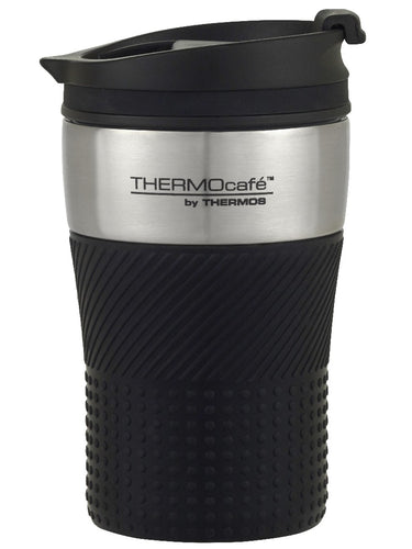 Thermos Thermocafe Insulated Travel Cup 200ml Black - ZOES Kitchen