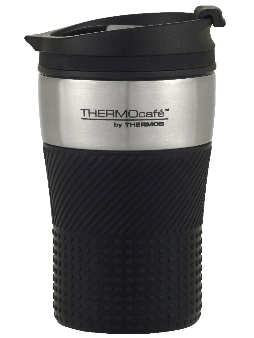 Thermos Thermocafe Insulated Travel Cup 200ml Black - ZoeKitchen